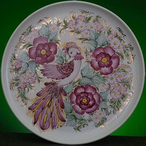 Wall decor plate 360mm V1303