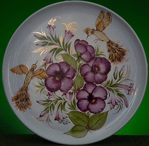 Wall decor plate 360mm V1304