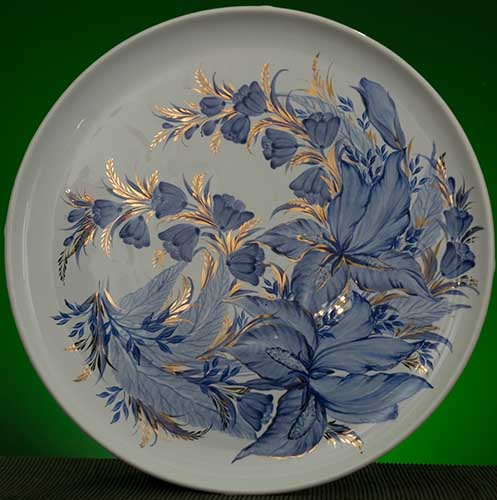 Wall decor plate 360mm V1318