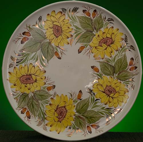 Wall decor plate 360mm V1320