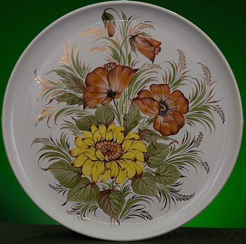 Wall decor plate 360mm V1321