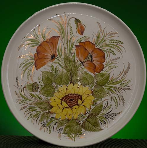 Wall decor plate 360mm V1324