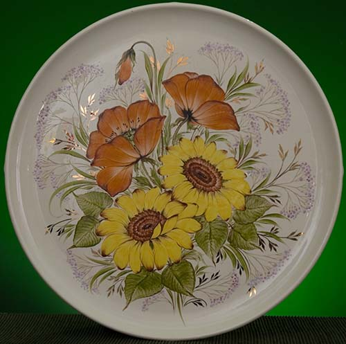 Wall decor plate 360mm V1325