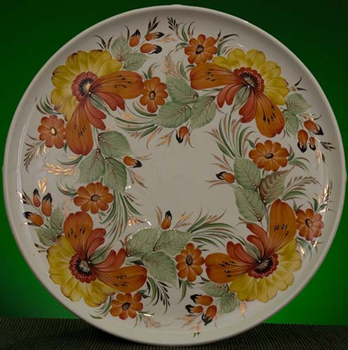 Wall decor plate 360mm V1336