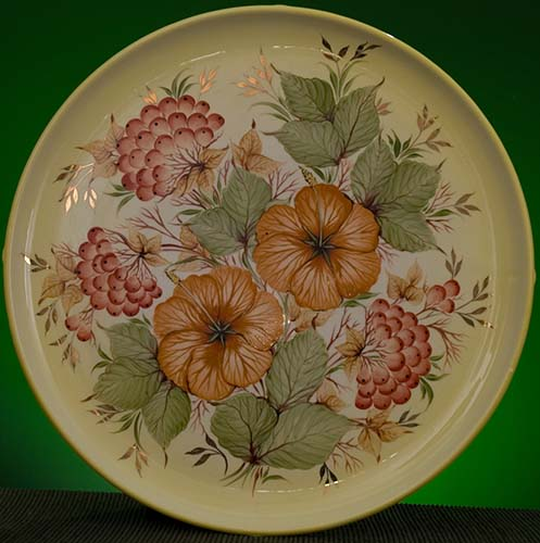 Wall decor plate 360mm V1337