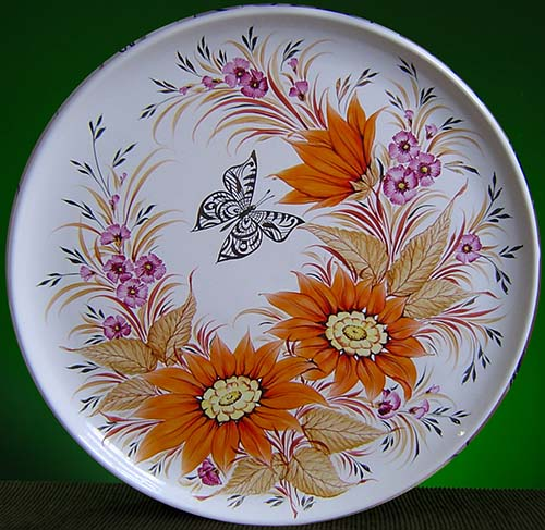 Wall decor plate 360mm V1338