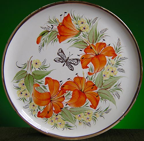 Wall decor plate 360mm V1341
