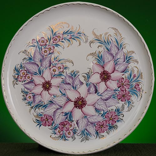 Wall decor plate 360mm V1343