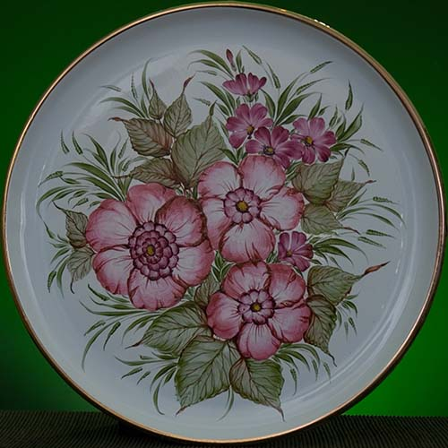 Wall decor plate 360mm V1345