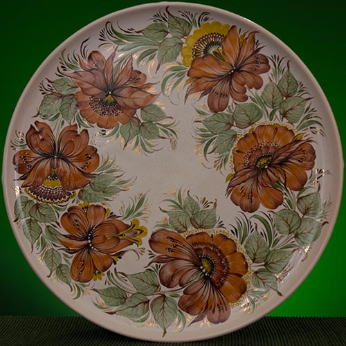 Wall decor plate 360mm V1351