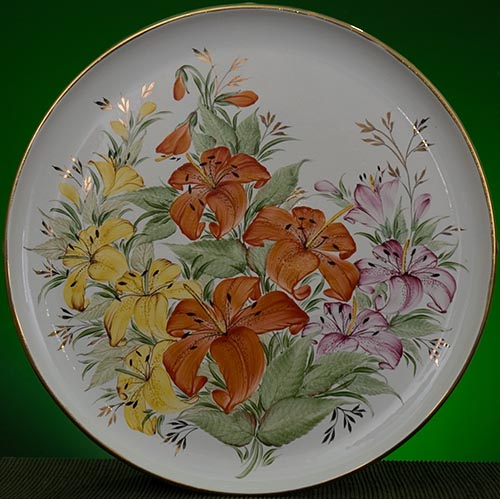 Wall decor plate 360mm V1356