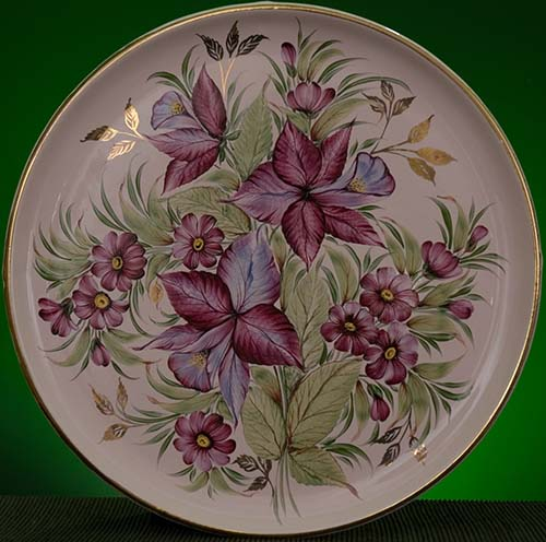 Wall decor plate 360mm V1360