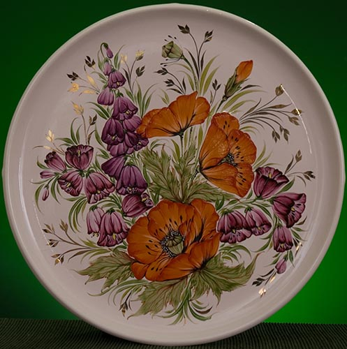 Wall decor plate 360mm V1363