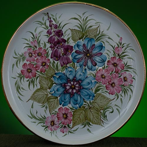 Wall decor plate 360mm V1364