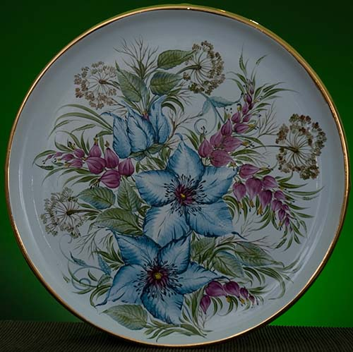 Wall decor plate 360mm V1365