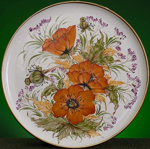 Wall decor plate 360mm V1366