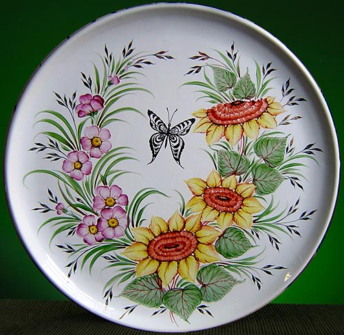 Wall decor plate 360mm V1373