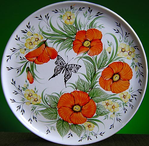Wall decor plate 360mm V1374