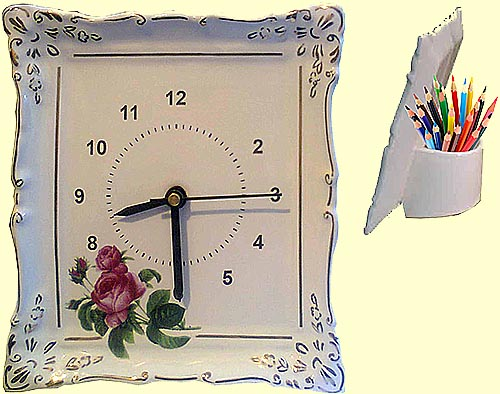 Clock 'Portofino' (Flower)