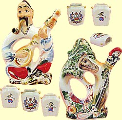 Bottle set 'Cossack Mamay' (incl. 8 items)