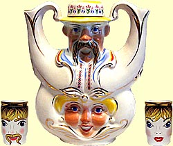 Teapot set 'Godmother & Godfather' (incl. 3 items)