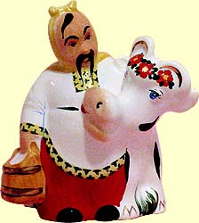 Sculpture 'Daizy cow'